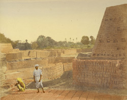 Brick kiln on the Hooghly, Calcutta